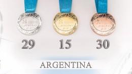 medallero final