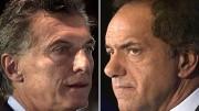 ARGENTINA-ELECTION-RUN-OFF-MACRI-SCIOLI