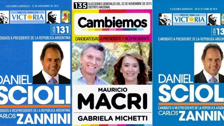 boletas scioli macri 2015