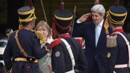 Kerry y Macri